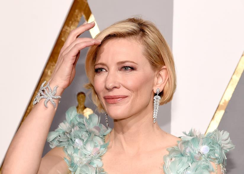 Primo piano di Cate Blanchett