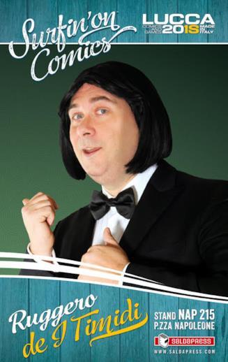 il cantautore Ruggiero de i Timidi