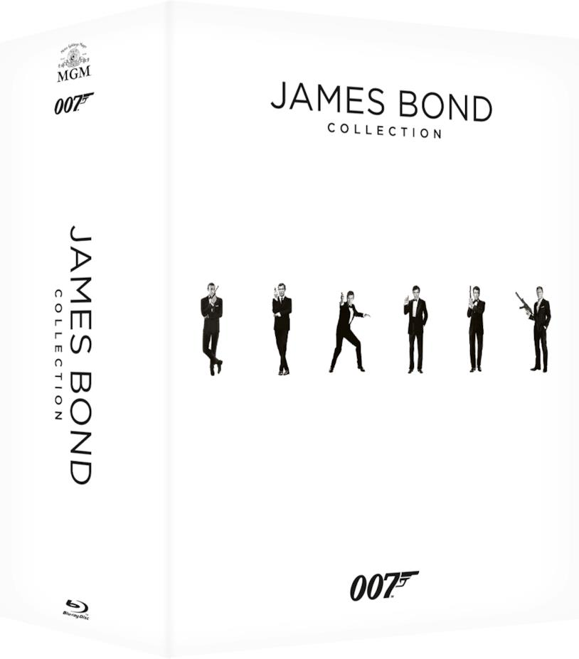 Cofanetto completo film James Bond