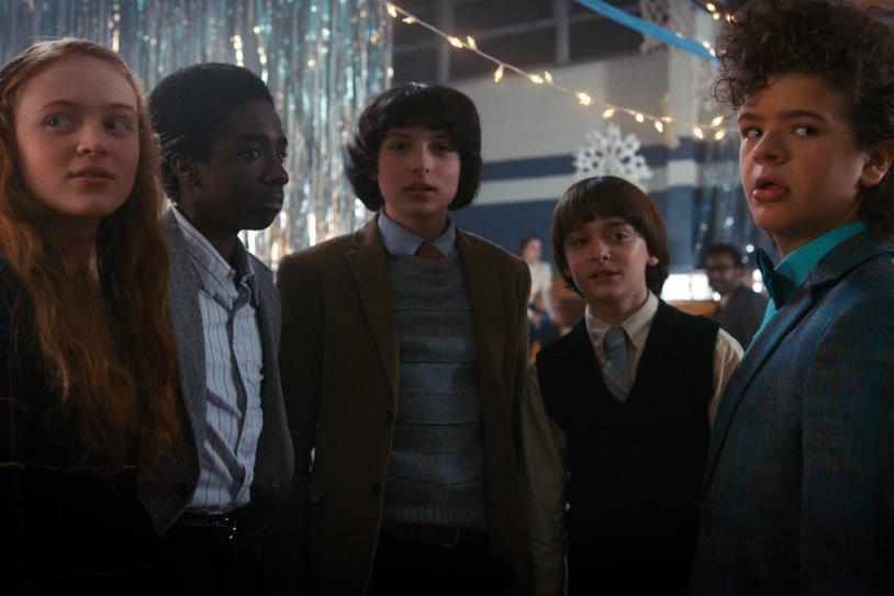 Alcuni dei personaggi principali di Stranger Things 2