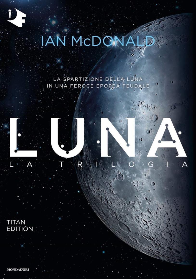 La copertina di Luna la trilogia