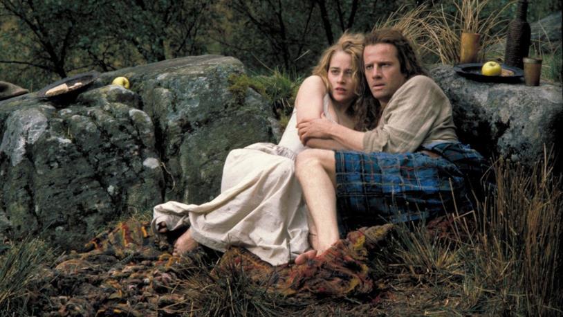 Heather MacLeod e Connor MacLeod nel film Highlander - L'ultimo immortale