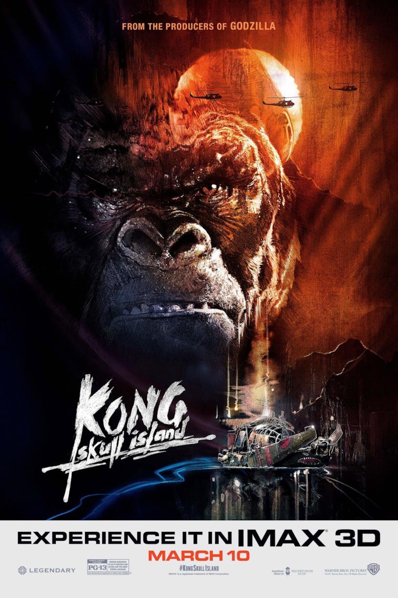 Il poster ispirato ad Apocalypse Now di Kong: Skull Island