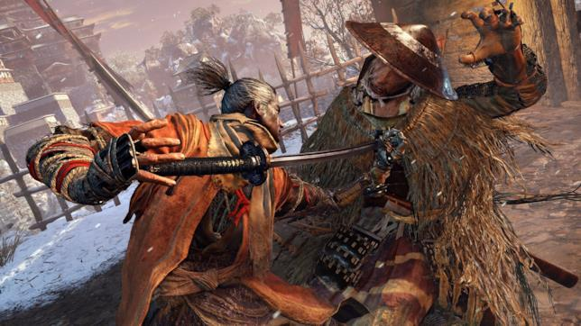 Sekiro: Shadows Die Twice samurai