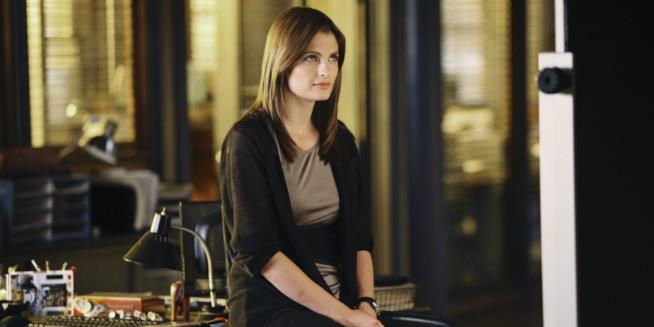 Stana Katic è Kate Beckett in Castle