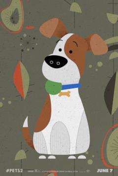 Il cane Max è protagonista di Pets 2