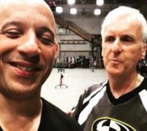 Un mezzo primo piano di Vin Diesel alla premiere di Fast & Furious