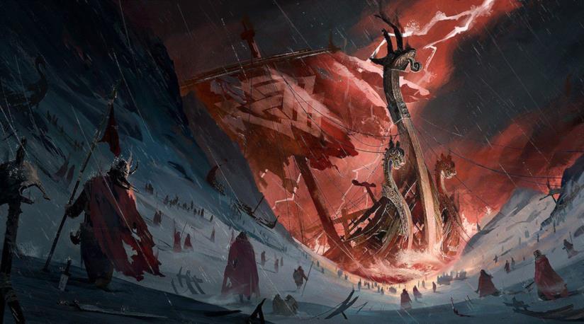 Una presunta concept art di Assassin's Creed Ragnarok