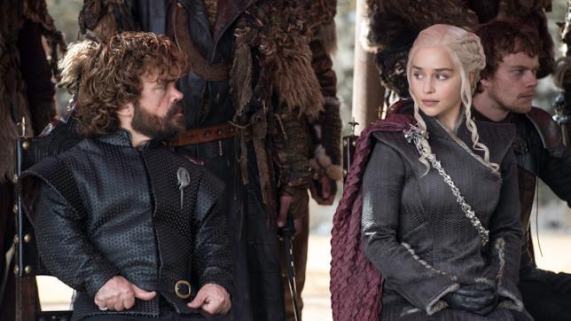 Peter Dinklage e Emilia Clarke interpretano Tyrion Lannister e Daenerys Targaryen