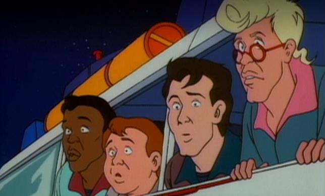 The Real Ghostbusters, i quattro acchiappafantasmi in auto