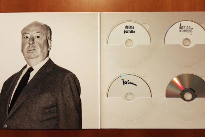 La Alfred Hitchcock Vinyl Edition aperta