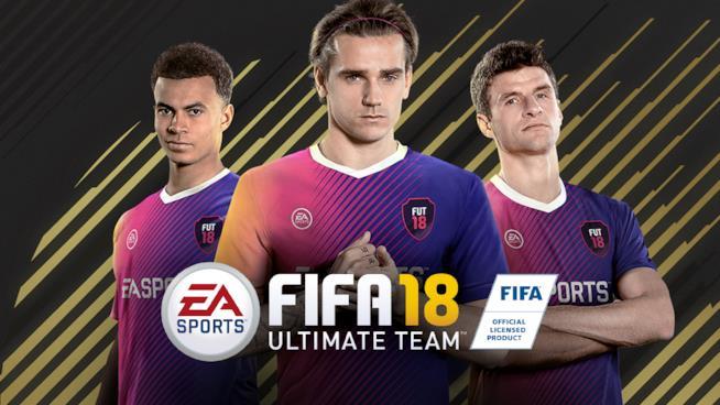 Alcuni dei campioni di FUT in FIFA 18