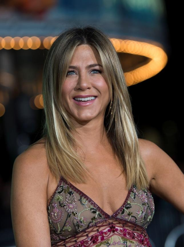 Una sorridente Jennifer Aniston