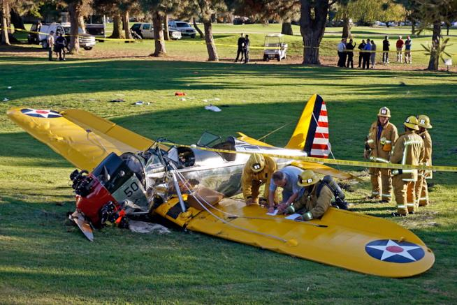 Harrison Ford incidente