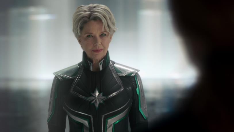 Annette Bening nel film Captain Marvel