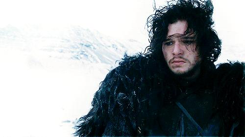 Un primo piano di Kit Harington, interprete di Jon Snow