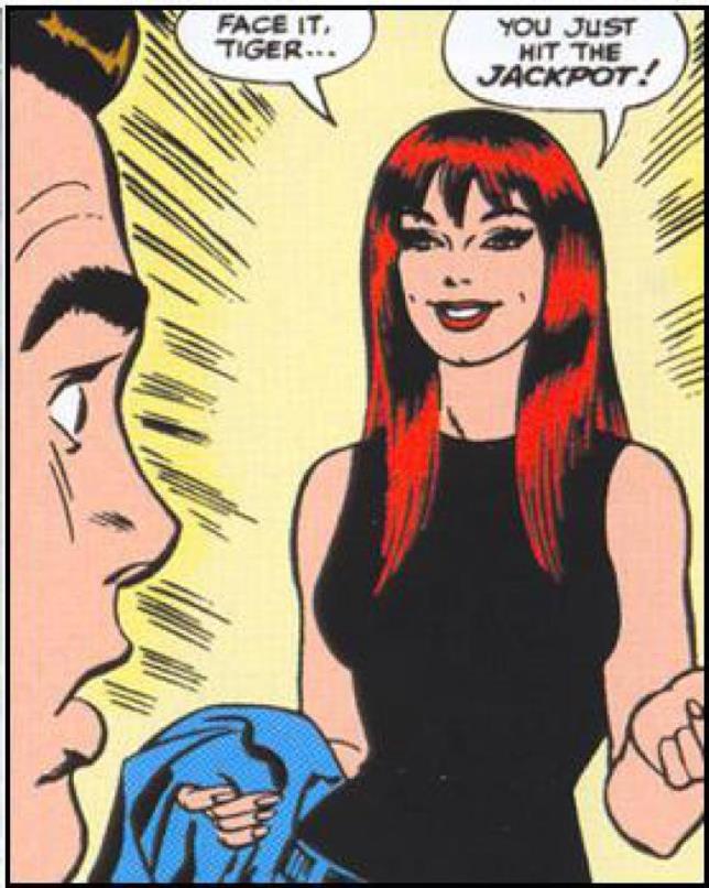 Mary Jane Watson in un fumetto Marvel