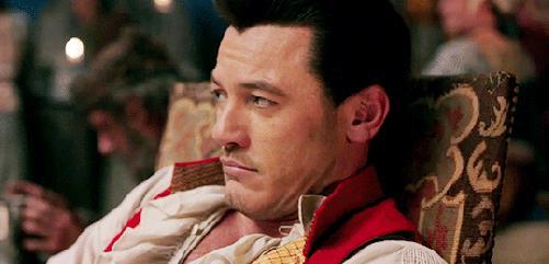 Un gesto altero di Gaston