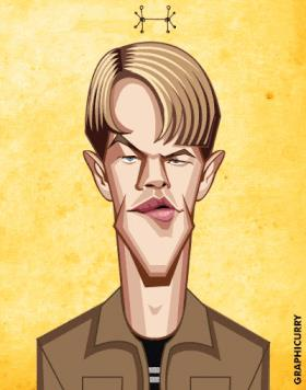 Matt Damon: la carriera in una GIF
