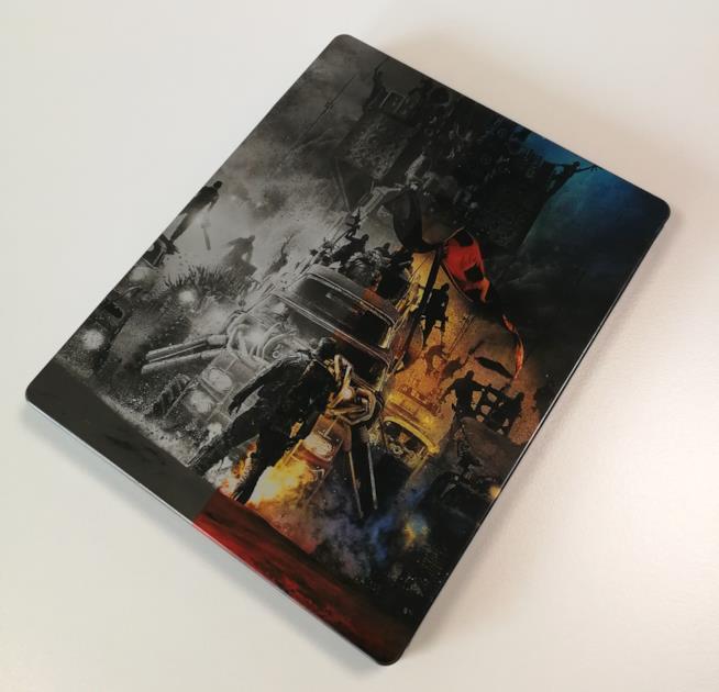 Mad Max: Fury Road, retro della versione Steelbook