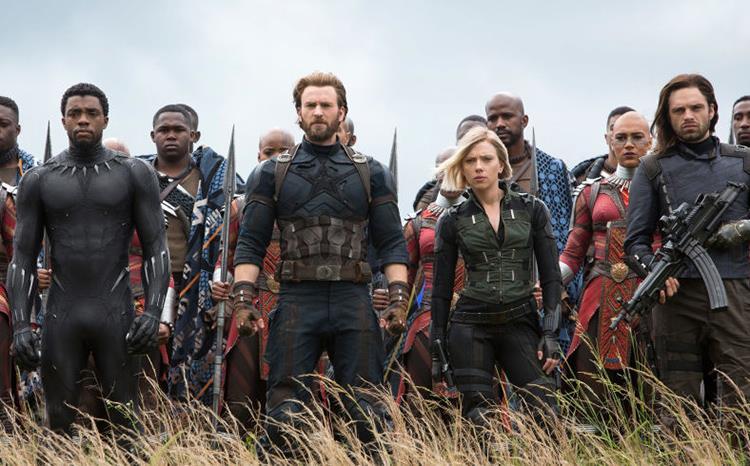 I protagonisti di Avengers: Infinity War