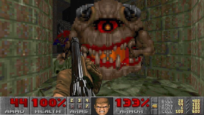 Un Pain Elemental, nemesi storica presente in Doom