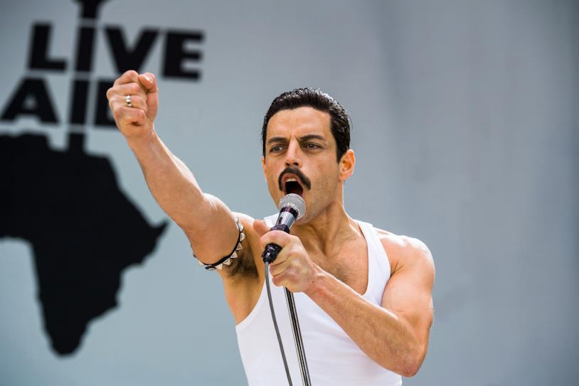 Rami Malek è Freddie Mercury nel film