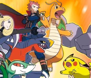 Un concept art per il lancio di Pokémon Masters