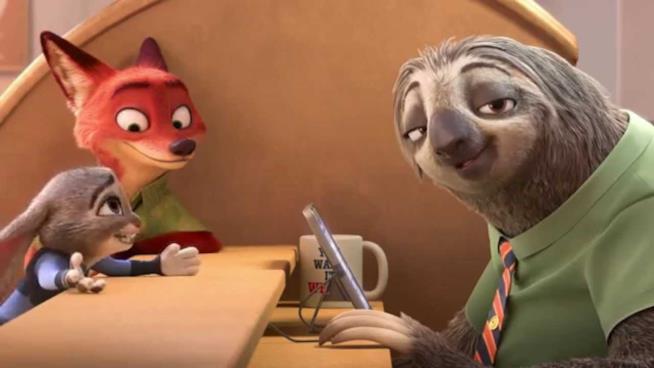 Scena del film Zootropolis