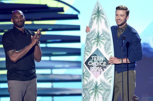 Justin Timberlake ai Teen Choice