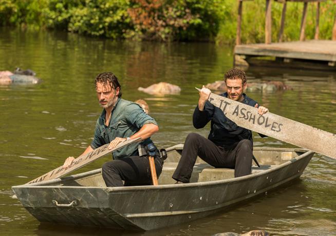 The Walking Dead: episodio 7x08