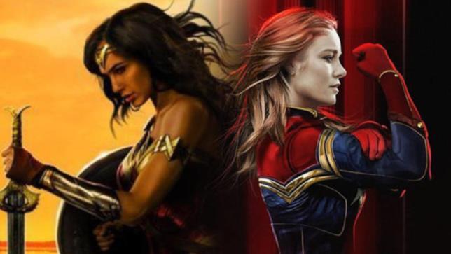 Wonder Woman e Captain Marvel: DCEU e MCU andranno presto sull'uno a uno