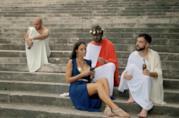 Le coppie storiche Roma Nord e Roma Sud nel video degli Actual