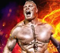 Brock Lesnar sulla copertina di WWE 2K17