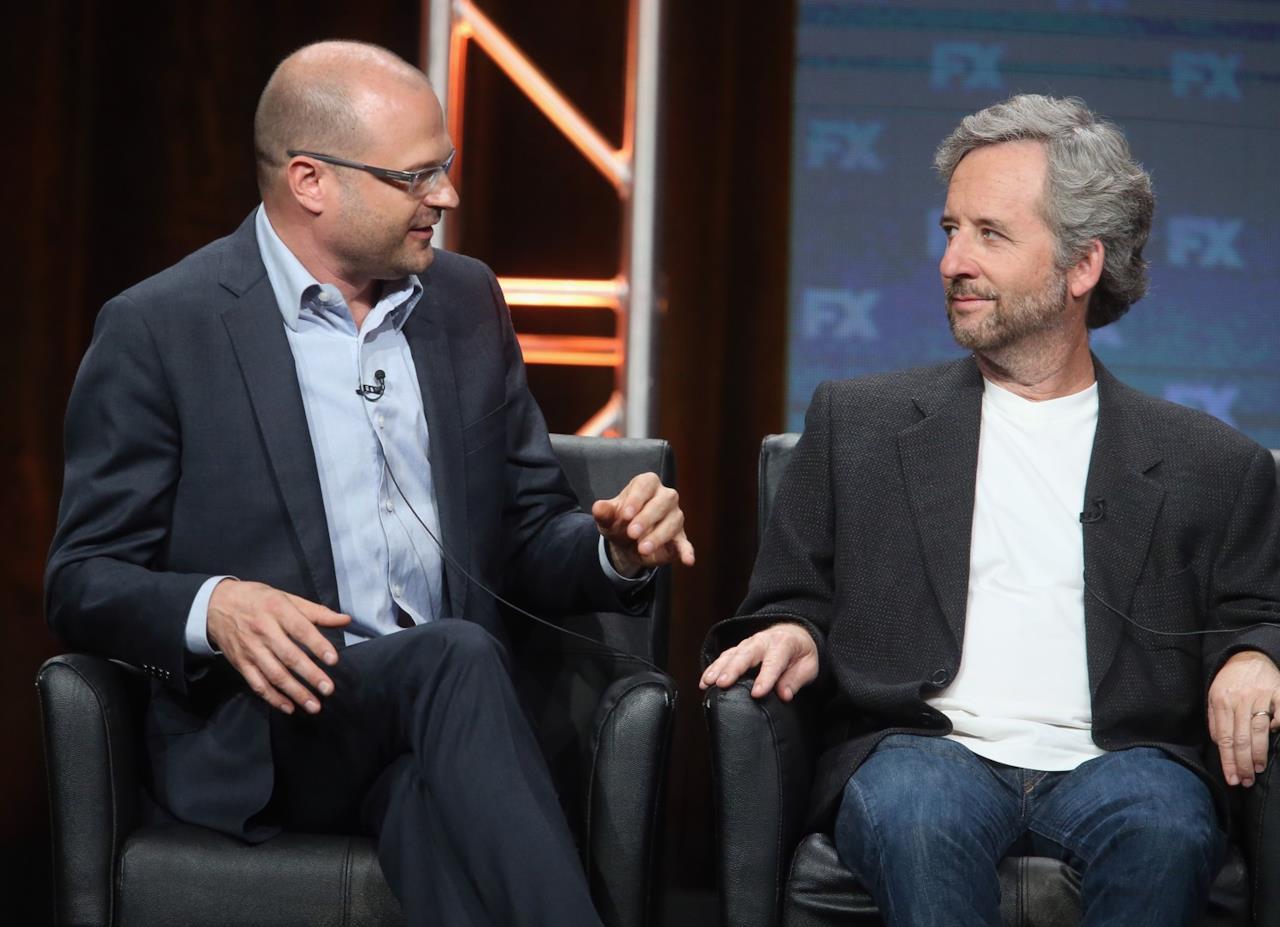 Il produttore Brad Simpson al TCA 2016.