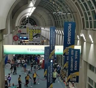 San Diego Comic-Con 2017: l'entrata alla Exhibit Hall