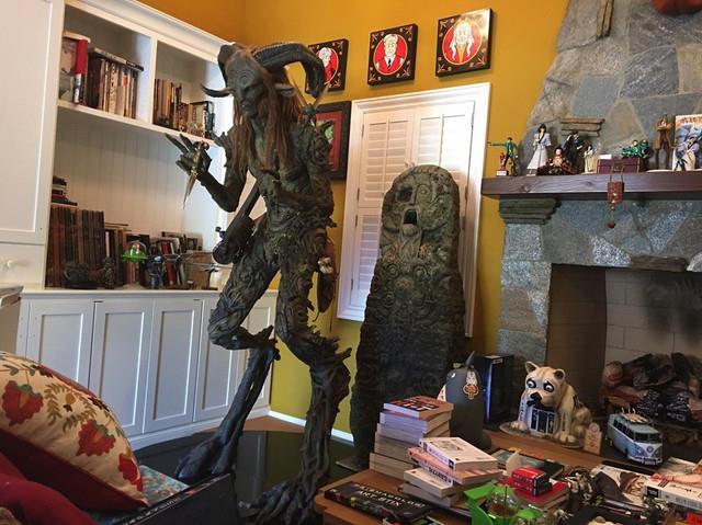 Guillermo del Toro collezione statua