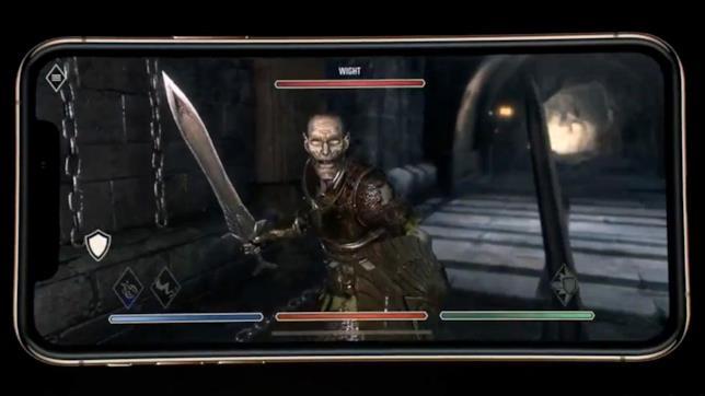 The Elder Scrolls: Blades mostra le potenzialità di iPhone XS