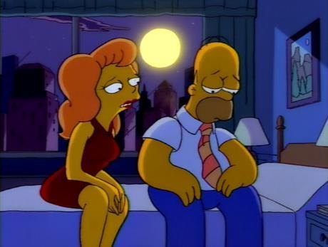 Una scena dell'episodio 5x09 de I Simpson