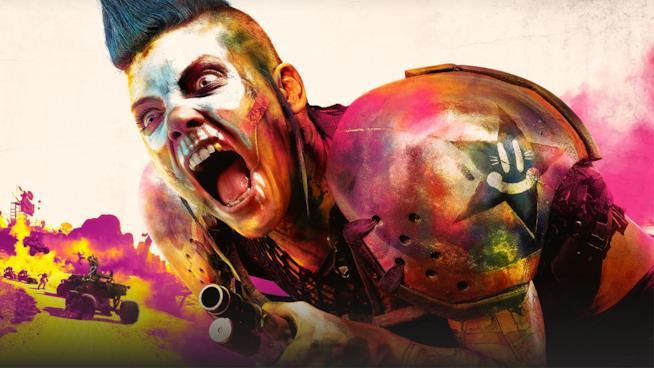 Un concept art di Rage 2, in uscita nel 2019