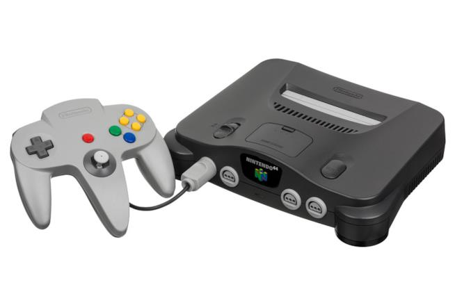 La leggendaria console Nintendo 64