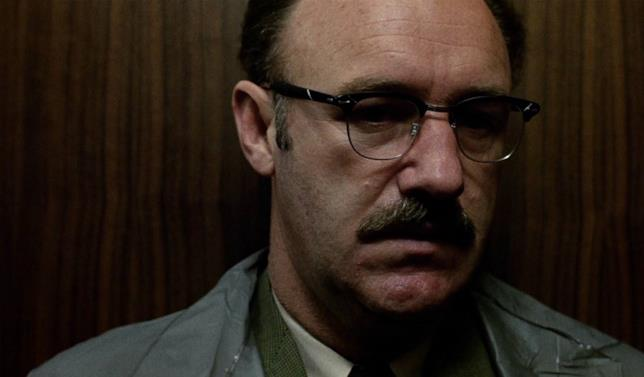 Gene Hackman in una scena del film