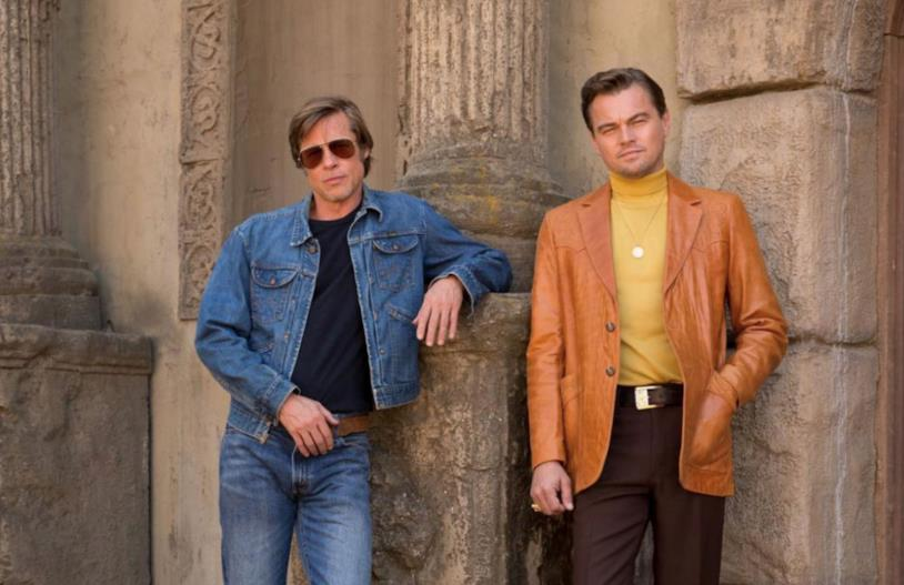 Una scena di Once Upon a Time in Hollywood