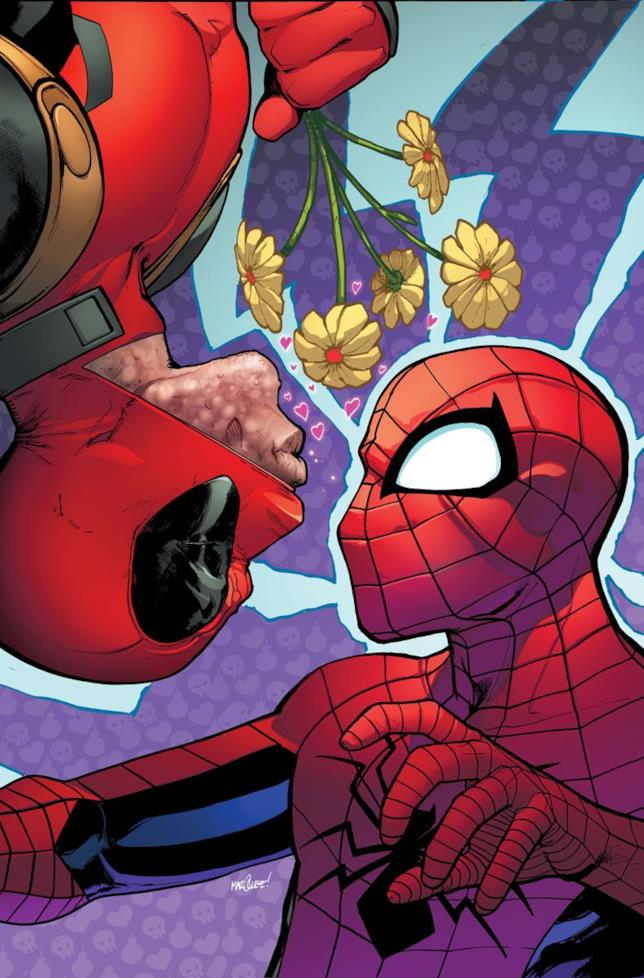 Deadpool e Spider-Man nei fumetti Marvel