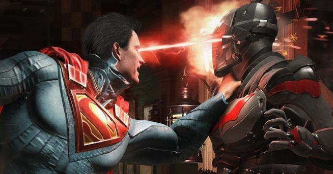 Superman combatte nelle arene di Injustice 2