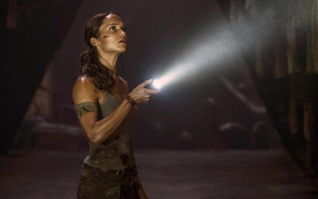 Alicia Vikander è Lara Croft nel reboot di Tomb Raider