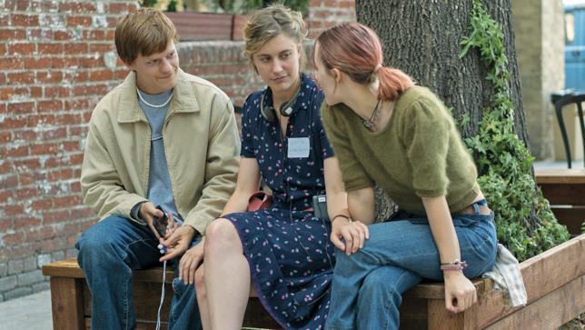 Greta Gerwig e i protagonisti di Lady Bird