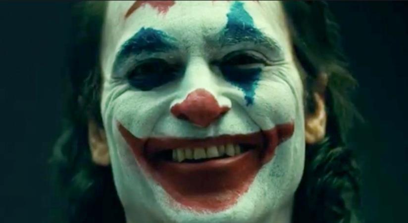 Joker in un primo piano del nuovo film
