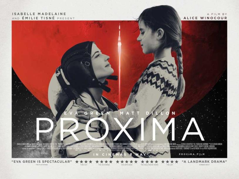 Il poster di Proxima