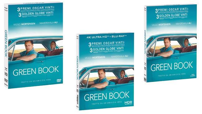 Green Book - Home Video - DVD, Blu-ray e Blu-ray 4K + Blu-ray